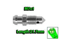 M6x1 HEX7 L29mm BLEEDER NIPPLE SCREW BRAKE CALIPER DRUM OR CLUTCH