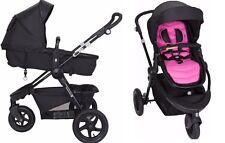 Baby Trend Debut All-Terrain Sport 3-Wheel Stroller Plumeria