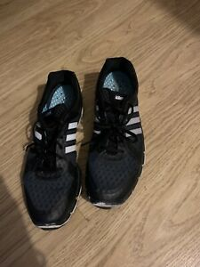 adidas Men Black Running Gym trainers Climacool Size 10