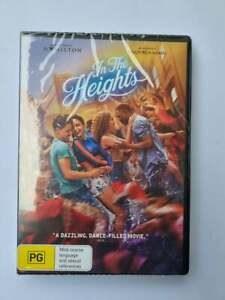 BRAND NEW In The Heights (DVD, 2021) NEW RELEASE**