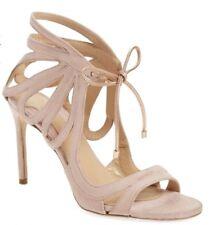 Chelsea Paris Sandal Ada Suede Ankle-Tie Size 39 $625