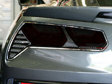 C7 Corvette Stingray/Z06 2014+ Separate Taillight Blackout Cover-Acrylic (4Pc)