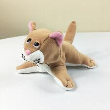 """A11 Vintage Tonka Pound Purries Orange White Cat Plush! 8"""" Stuffed Toy Lovey"""