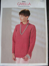 "Chevy Knitting Pattern: Ladies Sweater, DK, 28-40"", 1026"
