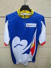 Maillot PARIS Cycliste Olympique POC Bovis cycling jersey bleu blanc rouge 6 XXL