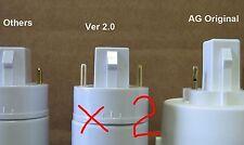 Aerogarden Bulb adapter New Design use regular CFL two pack