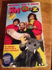 Sharon, Lois & Bram Sing A to Z VHS 1992 TESTED