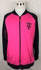 Mint! T-Mobile Pink & Black Employee Jacket Zip Front XXL/2XL