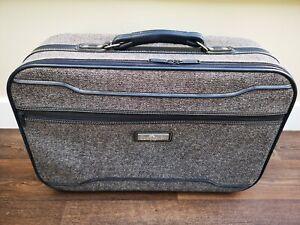 VINTAGE RETRO JORDACHE SUITCASE FLIGHT TRAVEL BAG LUGGAGE Free 24 HR UK POST