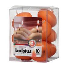 Velas decorativas Bolsius color principal naranja para el hogar