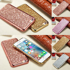 Glitter Bling Rugged Case Shockproof TPU Slim Cover For Samsung Galaxy S6 S7 S8+
