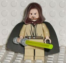 "Star Wars Lego Mini Figure Qui-Gon Jinn "" Jedi Master "" 7665 * NEW *"