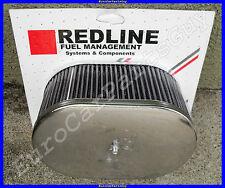 "Weber Redline 40 42 45 48 DCOE Dellorto DHLA TALL Air Filter 3-1/4"""