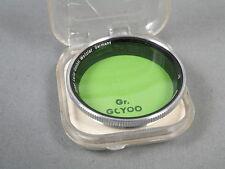 Leitz Summitar Filter Grün Gr+Dose+Pappeinl. Gr. GCYOO