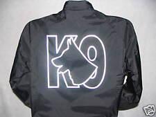 Reflective K-9 Raid Style Jacket, GSD Logo, K9, Great Call Out Jacke, Size XL
