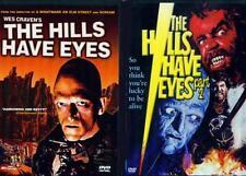 HILLS HAVE EYES 1 & 2 - Wes Craven's Original Horror Classics - NEW 2 DVD