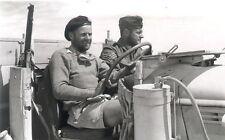 WW2 Photo WWII British Long Range Desert Group Soldiers LRDG North Africa / 1384