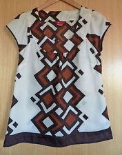 Monsoon Hip Length Cotton Collarless Tops & Shirts for Women
