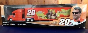 Winners Circle NASCAR Tony Stewart #20 1:64 Shrek 2 Tractor Trailer Big Rig NIB