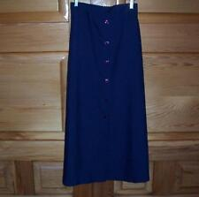 Linen Long Solid Skirts for Women