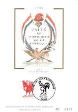carte Unité et Indivisibilité de la république - Paris 1992