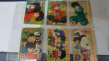 Bandai RANMA 1/2 Carddass Cards PART 1, 6 PRISM CARD HK VERSION