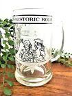 1976 Bicentennial Pharmacy's Historic Role Glass Beer Mug Stein Pharmacist Gift