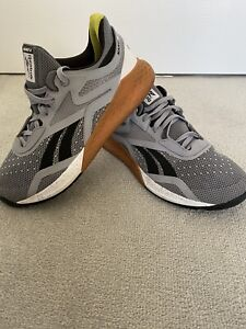 Reebok Crossfit Nano X Mens Training Shoes - Grey Size 9.5 UK / 44 Euro