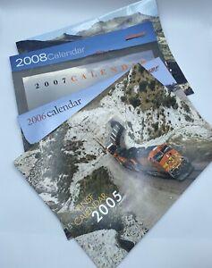 BNSF Train Railway Calendar Lot 2005 2006 2007 2008 2009