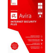 AVIRA Internet Security Suite 2018 - 3 PC - 1 Jahr - Vollversion * DE Lizenz