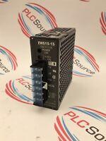POWER SUPPLY UNIT EWS15-15 NEMIC-LAMBDA 15VDC 1.1A EWS1515