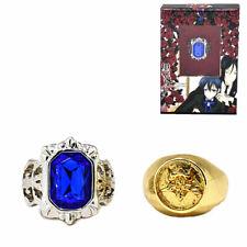 Black Butler Cosplay Ciel Sapphire Ring