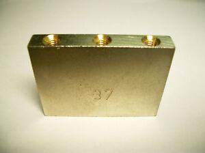 Schaller Tremolo Block 1 15/32in Nickel Plated
