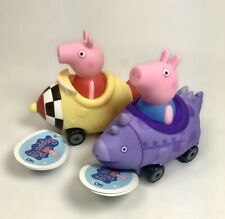 Peppa Pig Mini Buggies World of Peppa George Cars Buggy NEW Set of 2 Toys