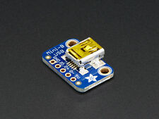 Adafruit USB Mini B Female Port Connector Breakout Board Socket 5V Power Arduino
