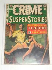CRIME SUSPENSTORIES #24 G (2.0) AUGUST 1998 EC COMICS