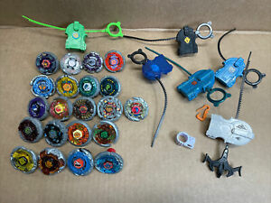 Beyblade Metal Fusion Lot Of 21 From 2010 -  beyblades LOT