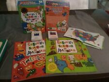The Scrambled States of America Game & 2 Softcover Books Homeschool United State