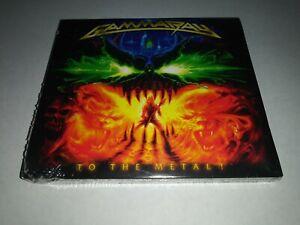GAMMA RAY To the Metal! CD + DVD DIGIPAK SEALED NEW 2010 Ear USA spine cut mark