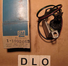 1964 1965 Oldsmobile F85 Back Up Switch ~ GM Part # 1993663