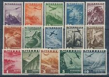 Ungeprüfte postfrische Briefmarken österreichische