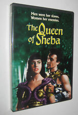 Pietro Francisci THE QUEEN OF SHEBA LA REGINA DI SABA - 1952 - dvd import usa