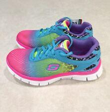 "SKECHERS~~Skech Appeal ""Serengeti"" Youth Girl's Multi-Color Sneakers~~Size 12"