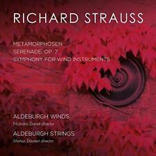 Richard Strauss: Metamorphosen- Symphony For Wind Instruments - Aldebur (NEW CD)