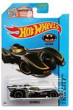 2015 Hot Wheels #62 HW City Batman Batmobile dark chrome