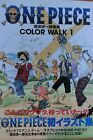 ONE PIECE COLOR WALK 1 EIICHIRO ODA Japanese illustration Art Book with OBI