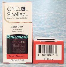 NEW CND Shellac GARNET GLAMOUR 14+ Day UV LED Gel Color Nail Polish ~ STARSTRUCK