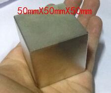 2x2x2 Super Strong Block Square Rare Earth Neodymium Magnet N50 50x50x50mm
