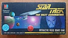 Star trek interactive video board game by mb 1994