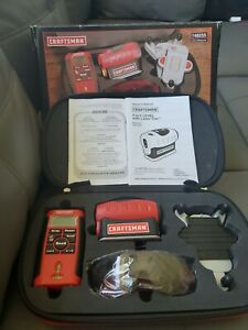 Craftsman 4-in-1 Laser Level & Laser-Guided Measuring Tool Combo Kit Laser Trac